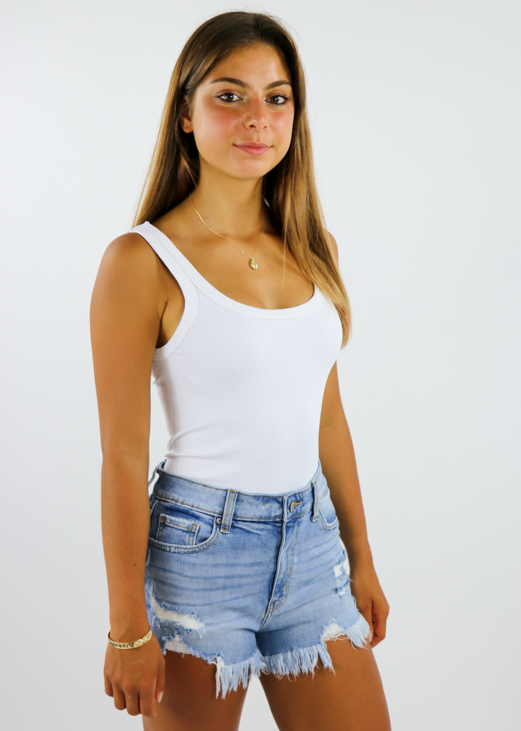 Spill The Tea Bodysuit ★ White - Rock N Rags