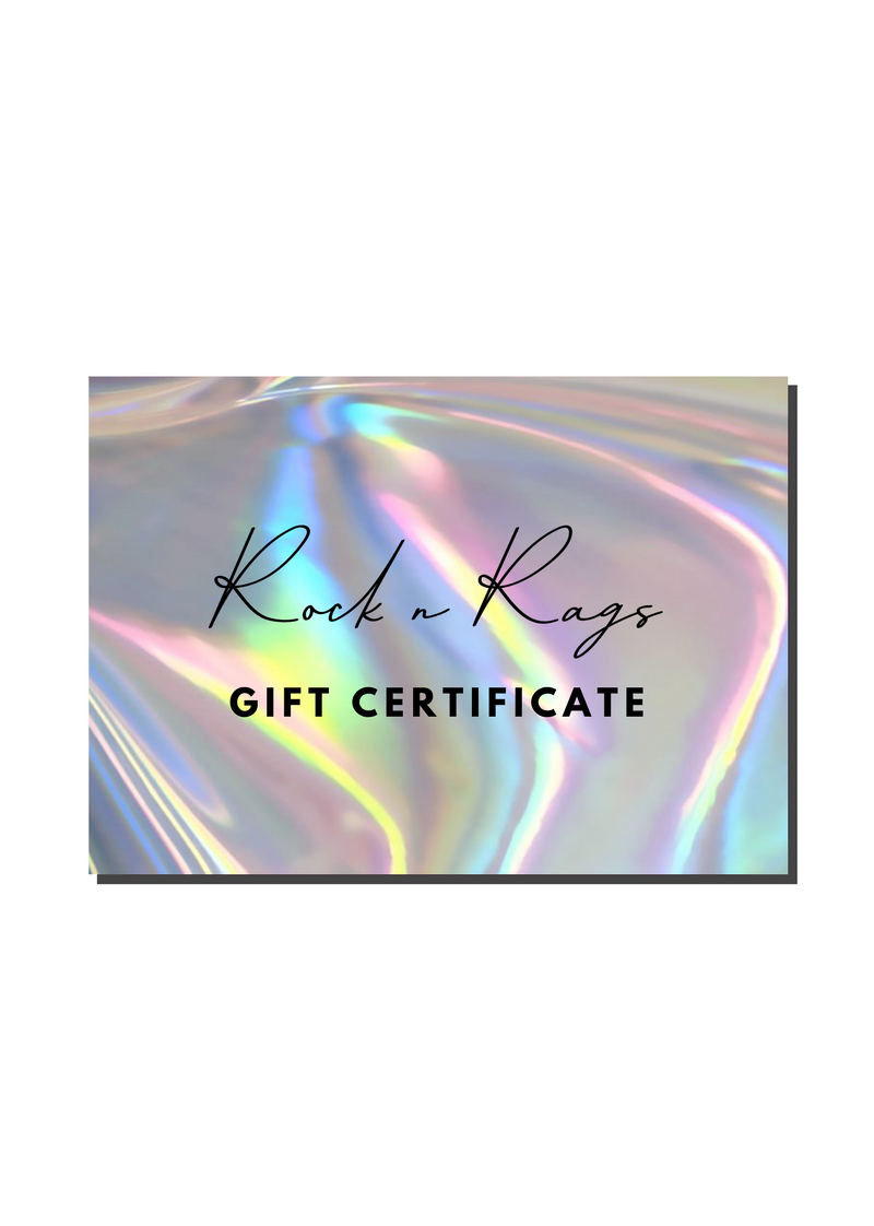 Gift Card - Rock N Rags