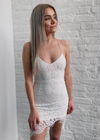 Modern Romance Lace Dress ★ White - Rock N Rags