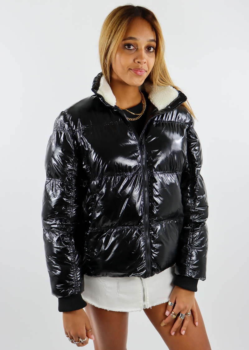 Bad Bleep Puffer Jacket ★ Black