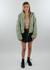 Thinking About You Jacket ★ Sage Green - Rock N Rags