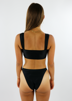Summer Nights Bikini Top ★ Black - Rock N Rags