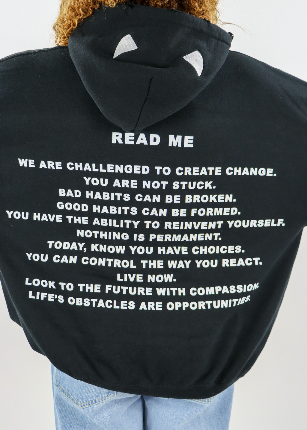 Boys Lie Read Me Hoodie ★ One Size