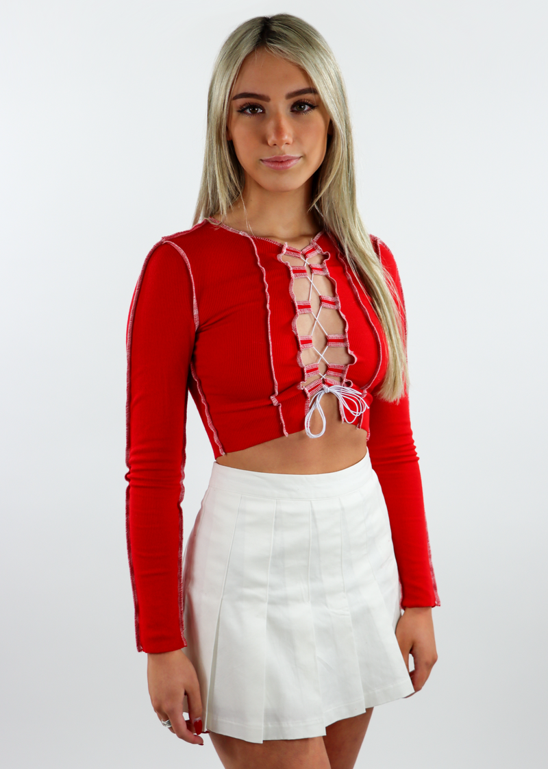 Gimme What I Want Top ★ Red