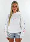 Shadow Hill Gradient Energy Pullover ★ White - Rock N Rags