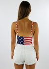 American Girl Bodysuit ★ Navy & Red - Rock N Rags