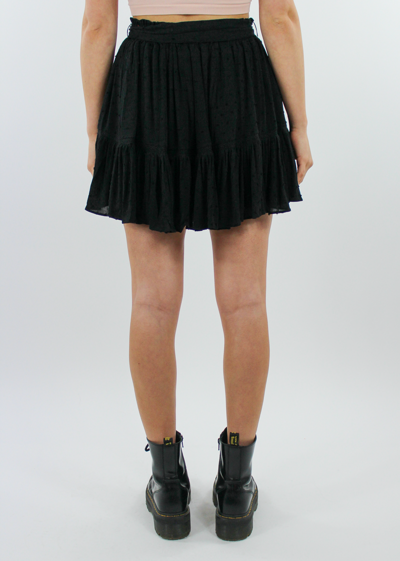 Holiday From Real Skirt ★ Black - Rock N Rags