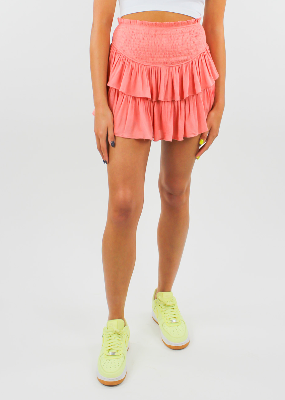 Love Galore Skirt ★ Coral