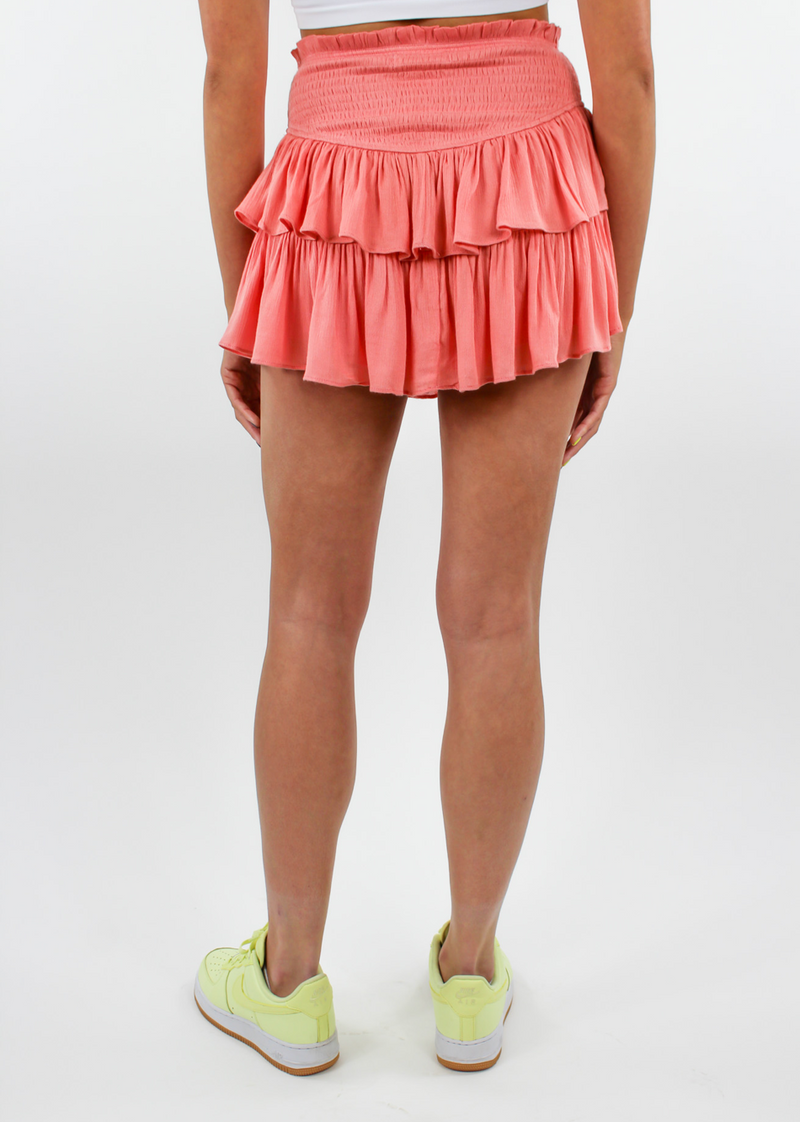 Love Galore Skirt ★ Coral - Rock N Rags