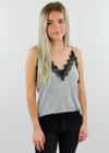 More Than A Feeling Tank ★ Gray - Rock N Rags