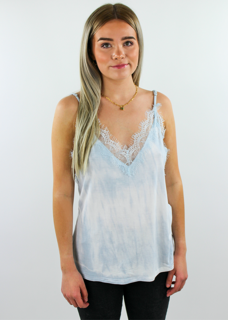 More Than A Feeling Tank ★ Sky Blue - Rock N Rags