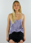 Lacey Daydreams Cami ★ Lavender - Rock N Rags