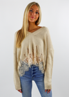 Lacey Lady Sweater ★ Taupe