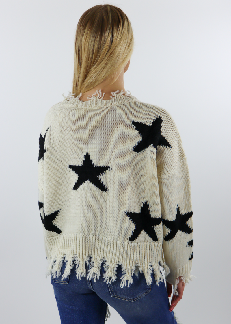 Starstruck Sweater ★ Cream