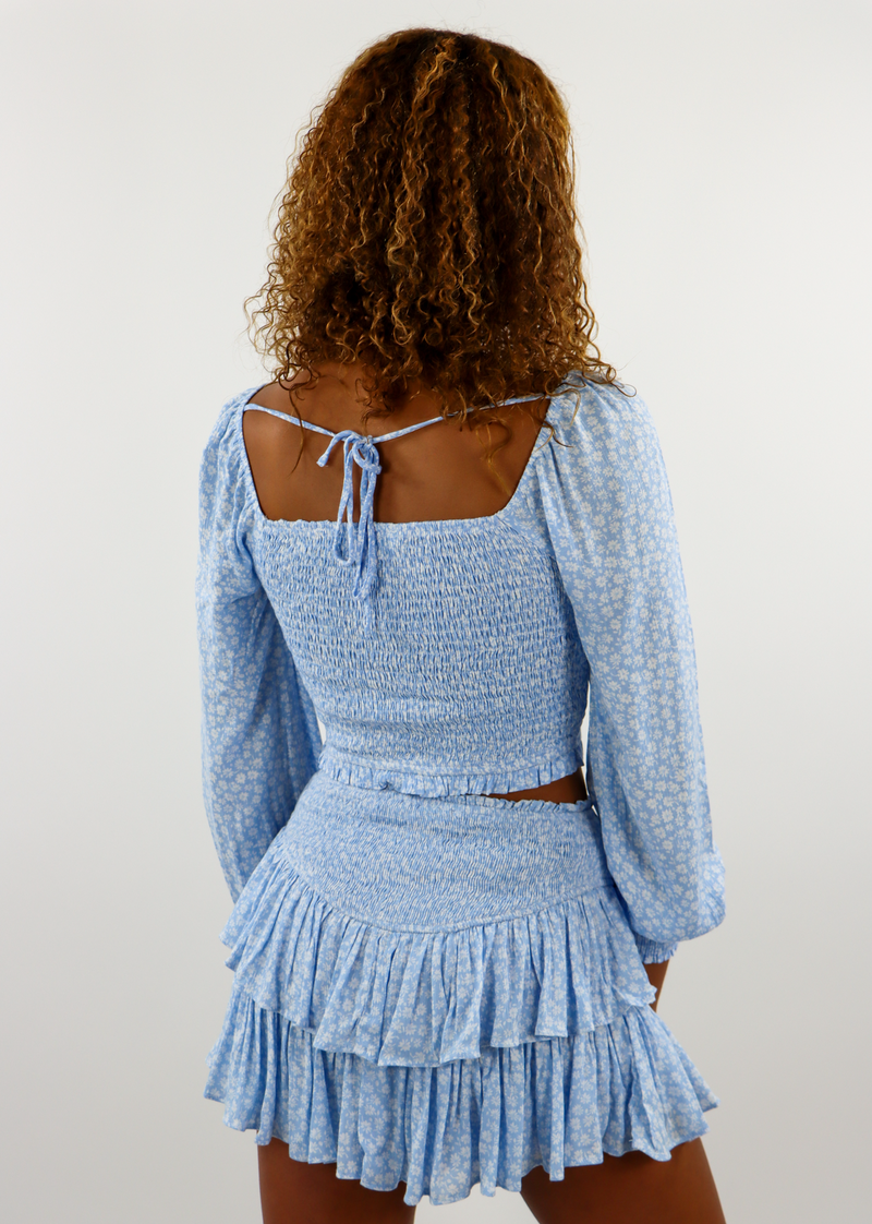 Sunshine Daydream Long Sleeve Top ★ Baby Blue