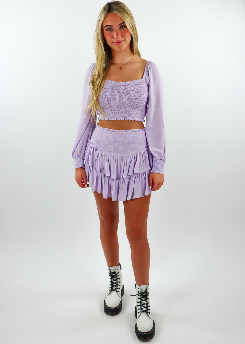 Sunshine Daydream Long Sleeve Top ★ Lavender