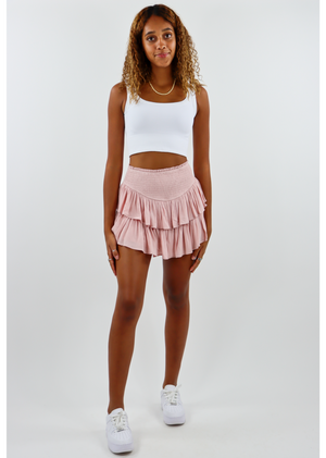 Sunshine Daydream Skirt ★ Dusty Rose - Rock N Rags