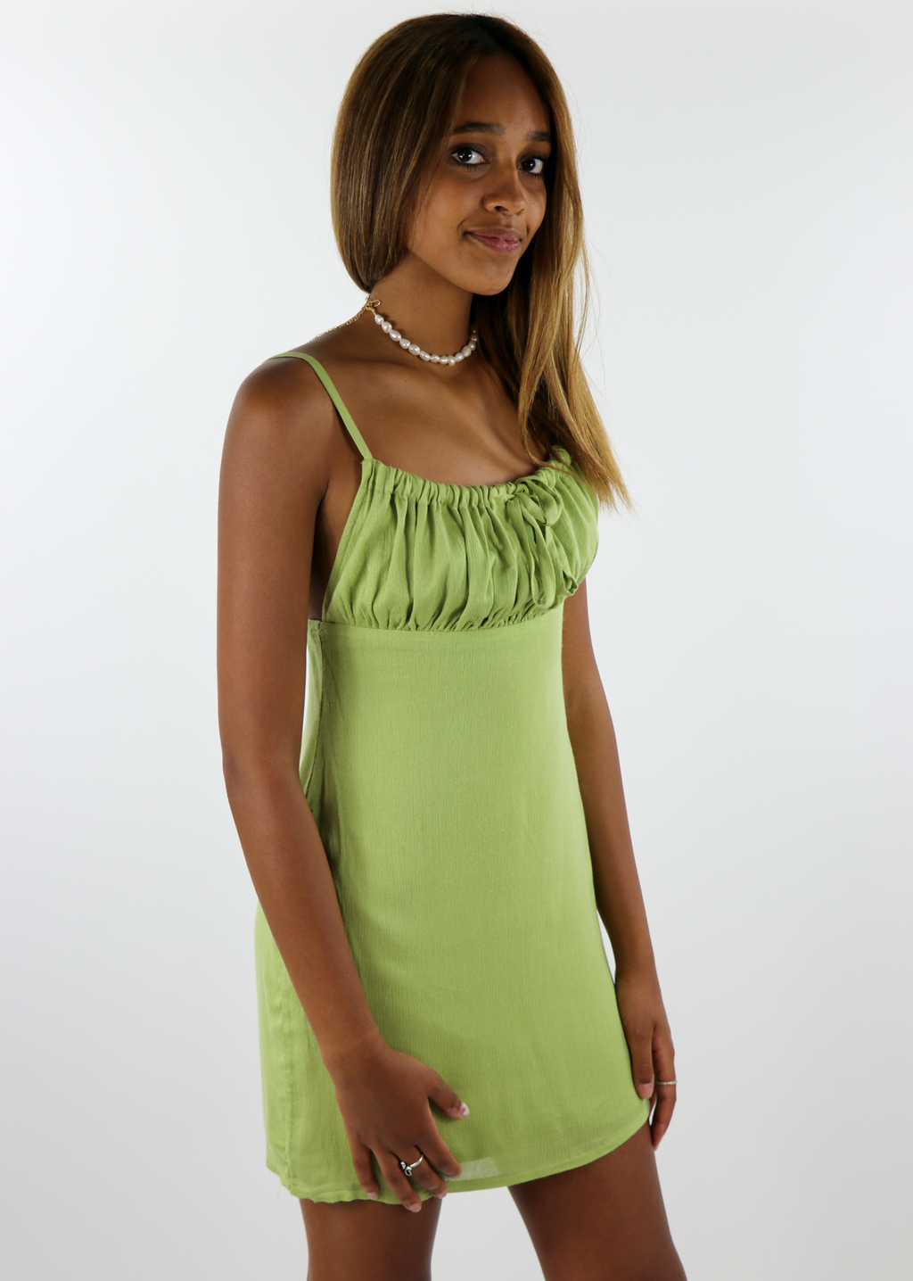 Green Light Dress ★ Green - Rock N Rags