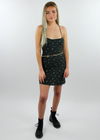 She Is Love Dress ★ Olive Green Floral - Rock N Rags