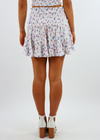 Electric Love Skirt ★ White Floral