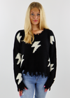 Thunderstruck Sweater ★ Black