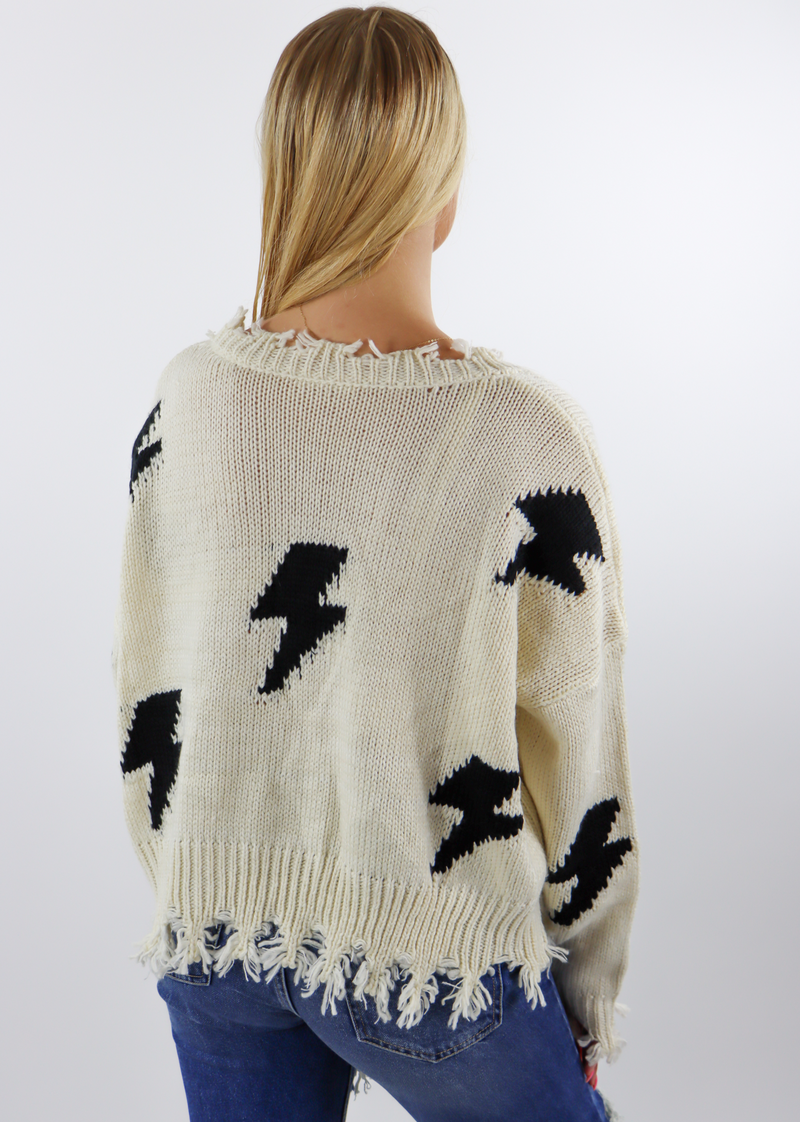 Thunderstruck Sweater ★ Cream