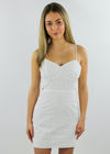 Nobody's Angel Dress ★ White - Rock N Rags