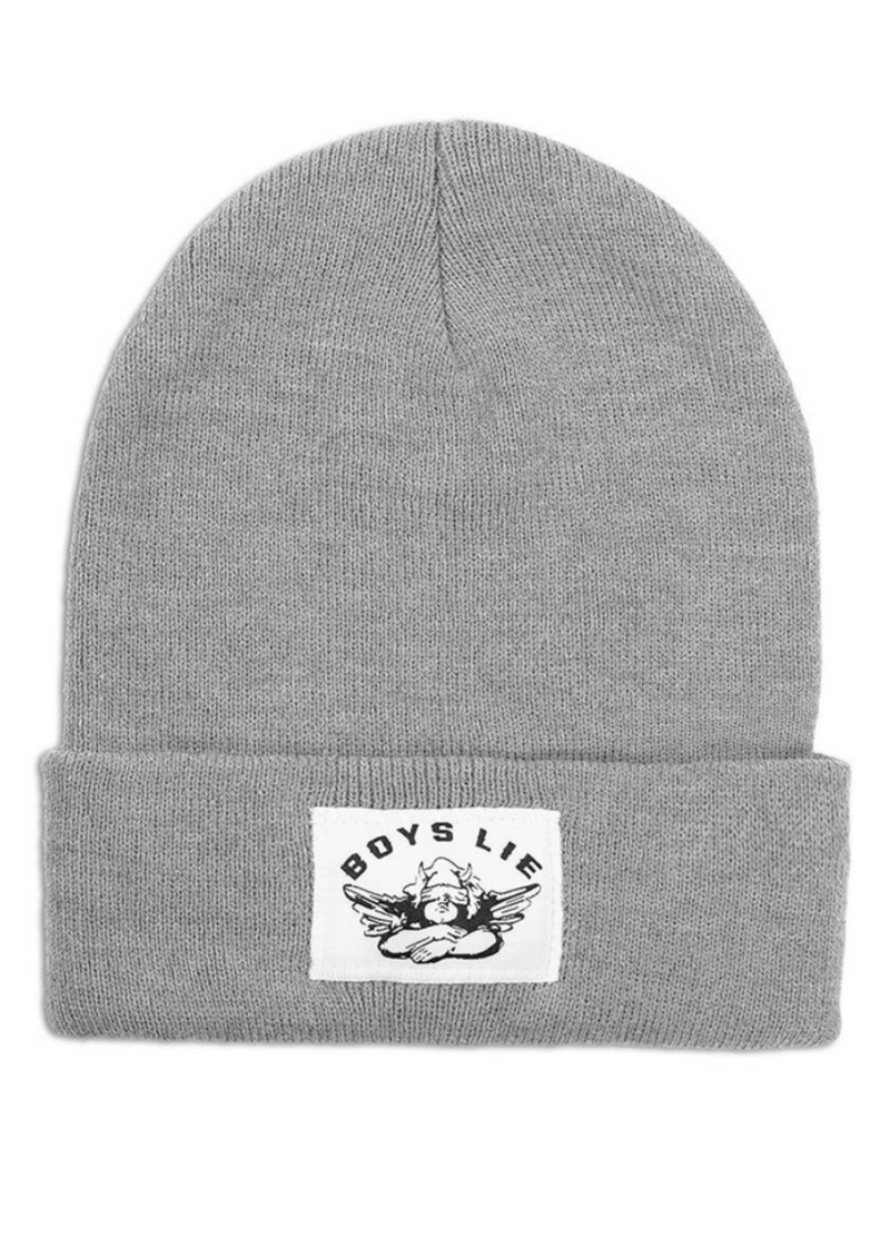 Boys Lie Beanie ★ Grey - Rock N Rags