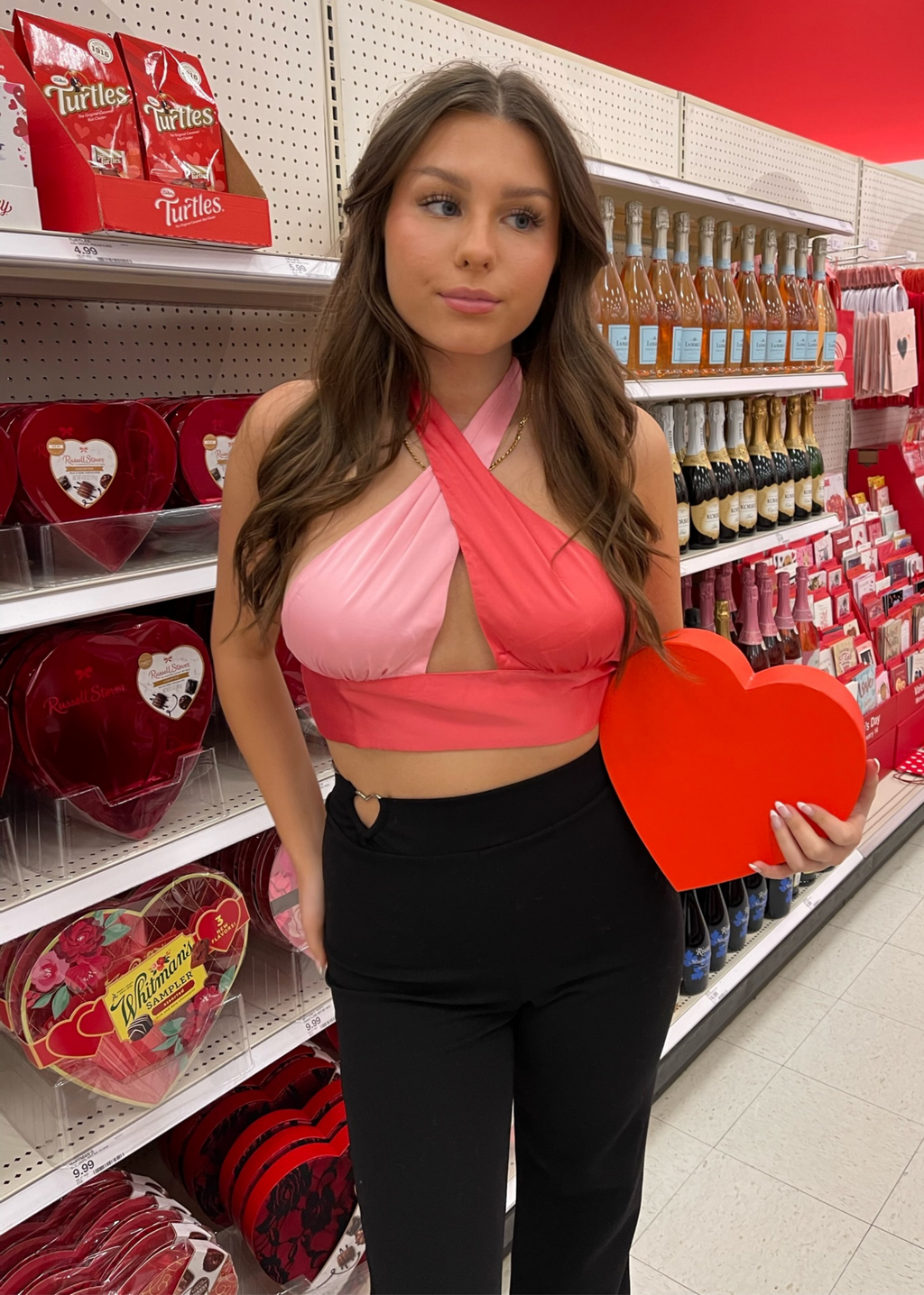 Boys Lie Beanie ★ Neon Orange