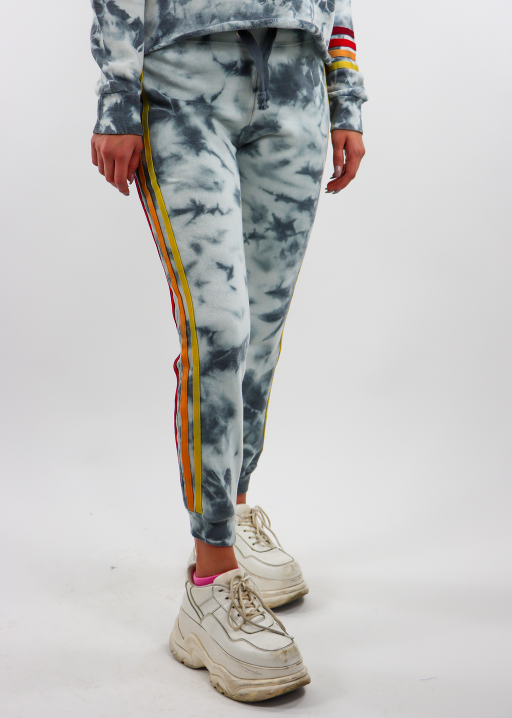 Coloring Book Tie Dye Joggers ★ Navy