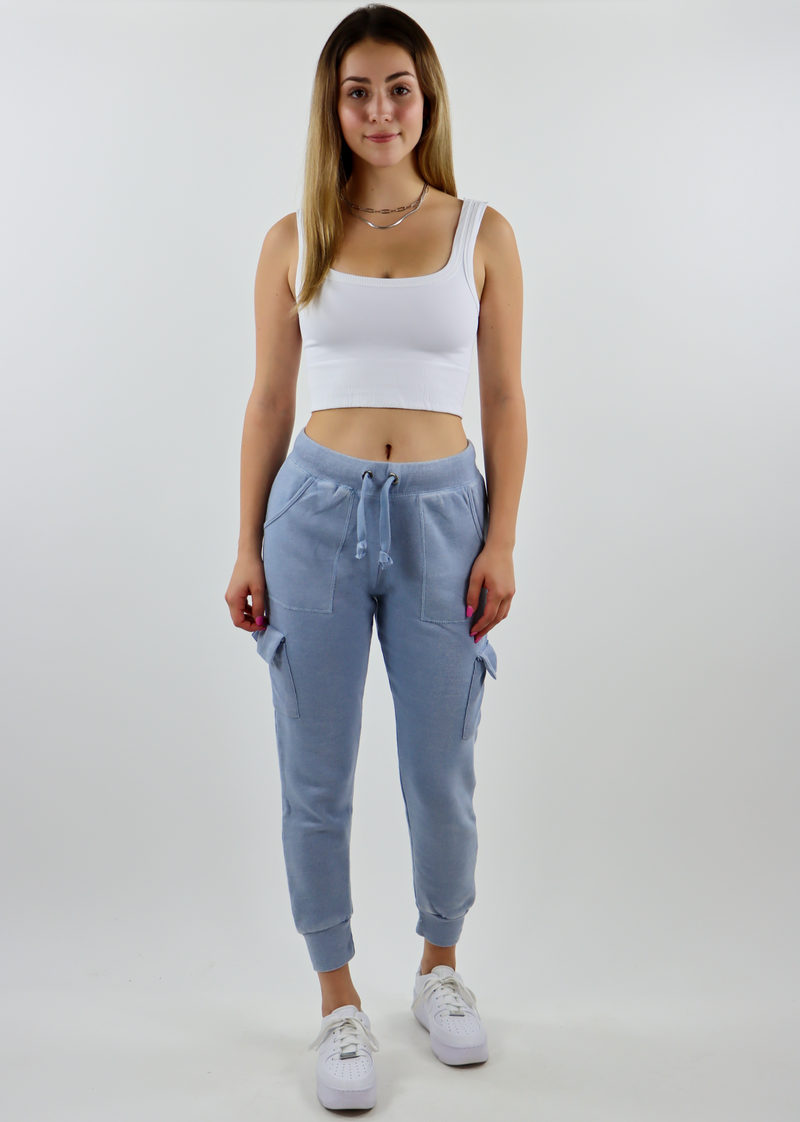 Netflix and Chill Cargo Joggers ★ Blue