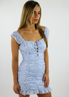 Runaway (U& I) Dress ★ Light Blue - Rock N Rags