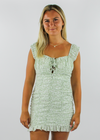 Runaway (U& I) Dress ★ Sage Green - Rock N Rags