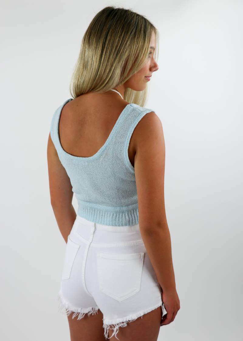 Wake up Its Saturday Top ★ Baby Blue - Rock N Rags