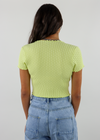 Out Of My League Cardigan ★ Lime
