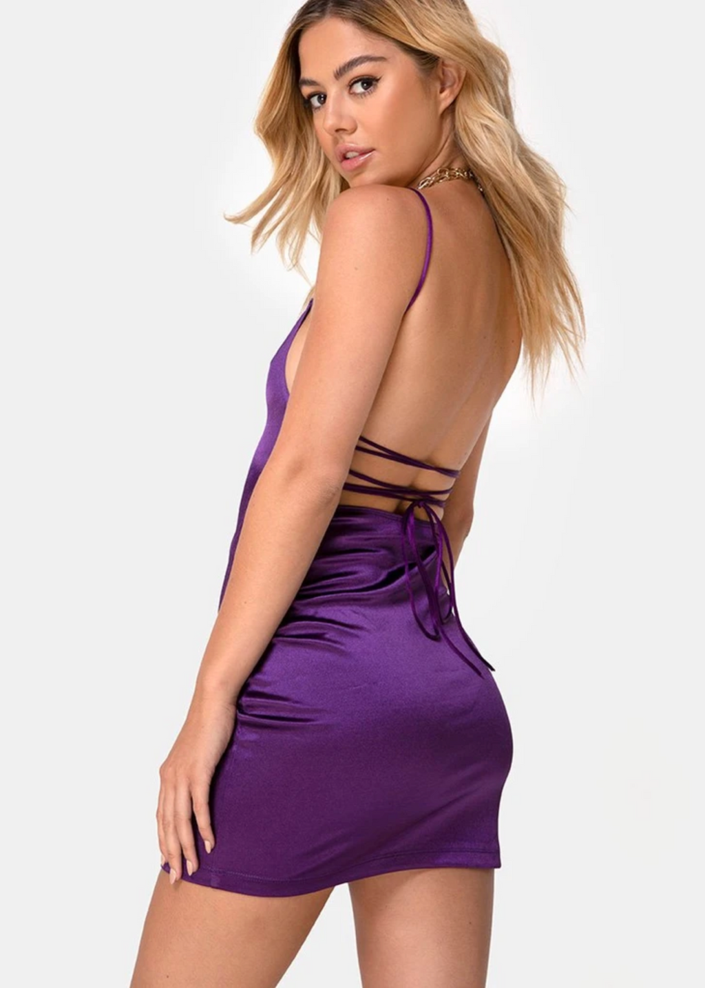Pretty Girl Rock Dress ★ Purple - Rock N Rags