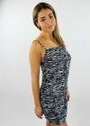 Animal Spirits Dress ★ Zebra - Rock N Rags