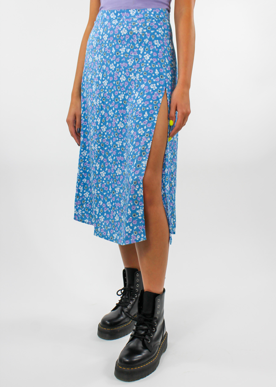Flower Power Skirt ★ Baby Blue