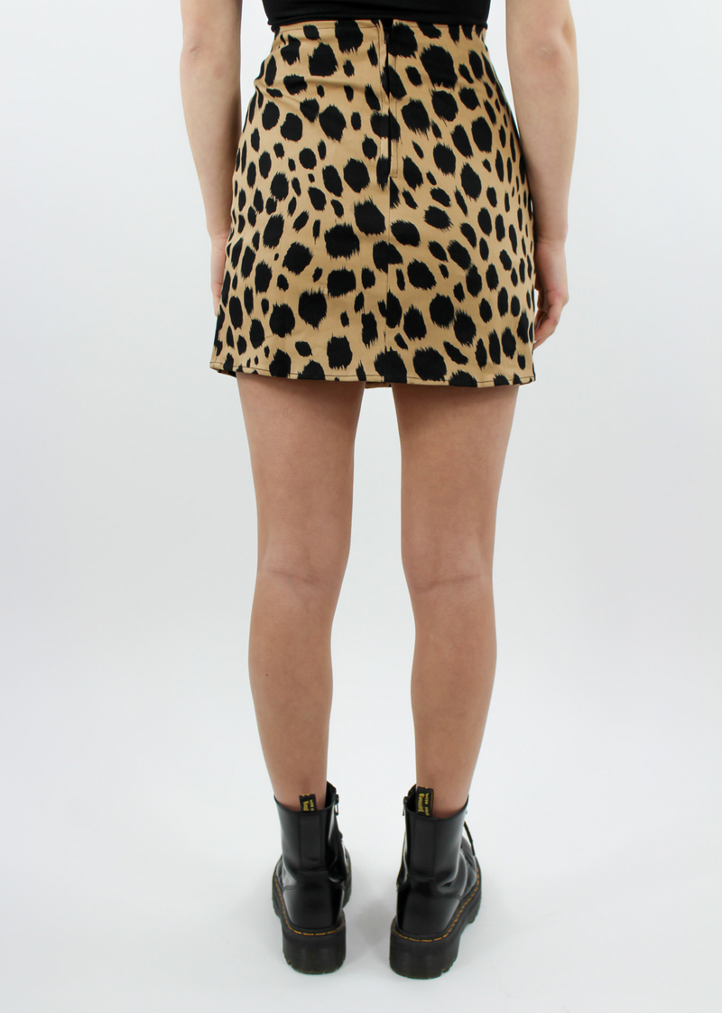 Like An Animal Mini Skirt ★ Cheetah