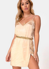 Dance Again Dress ★ Gold - Rock N Rags