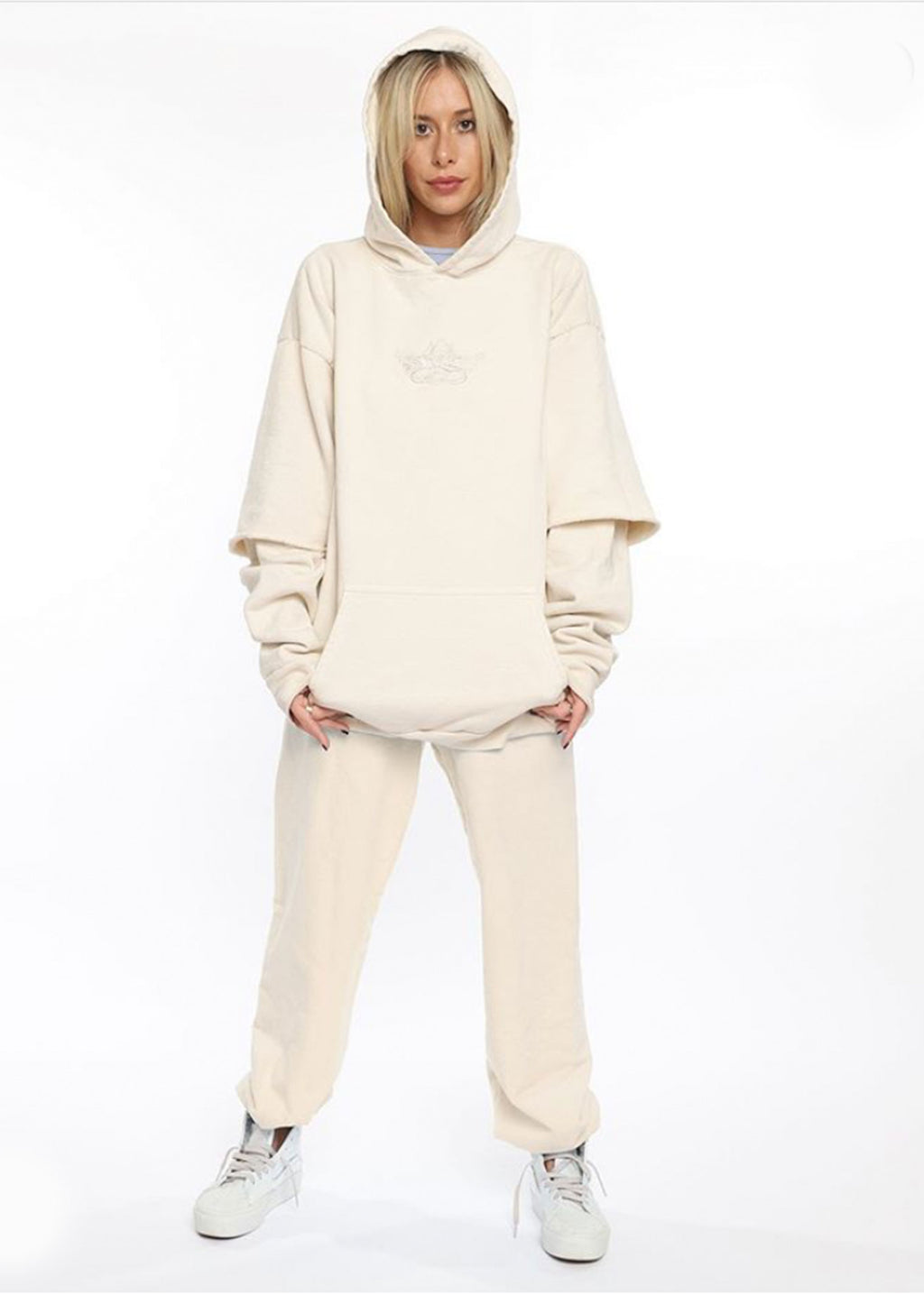 Boys Lie Ivory Twofer Sweatshirt ★ One Size - Rock N Rags