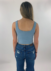 Spill The Tea Tank ★ Vintage Blue - Rock N Rags