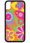 Groovy Flowers Wildflower iPhone Case ★ Pink & Orange - Rock N Rags