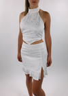 Ophelia Mini Skirt ★ White - Rock N Rags