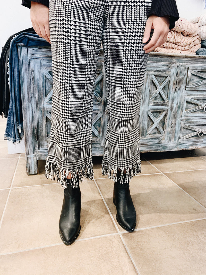 Can't Stop Me Now Pants ★ Checkered - Rock N Rags