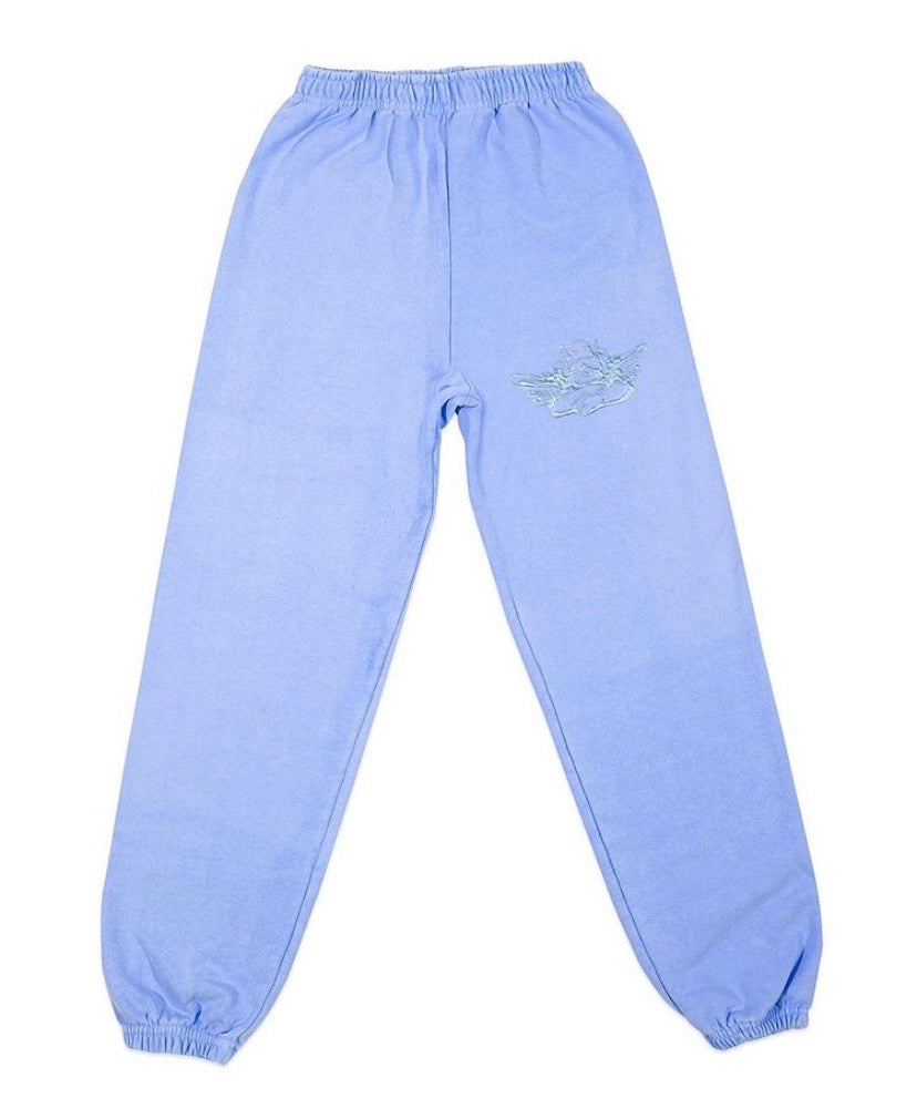Boys Lie With Love Flo Blue Sweatpants - Rock N Rags