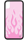 Pink Flames WildFlower iPhone Case ★ Baby Pink - Rock N Rags