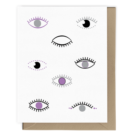 All Eyes On You Card