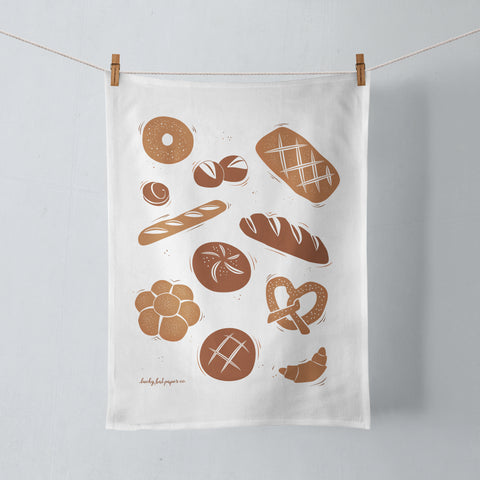 Bread Lovers Tea Towel