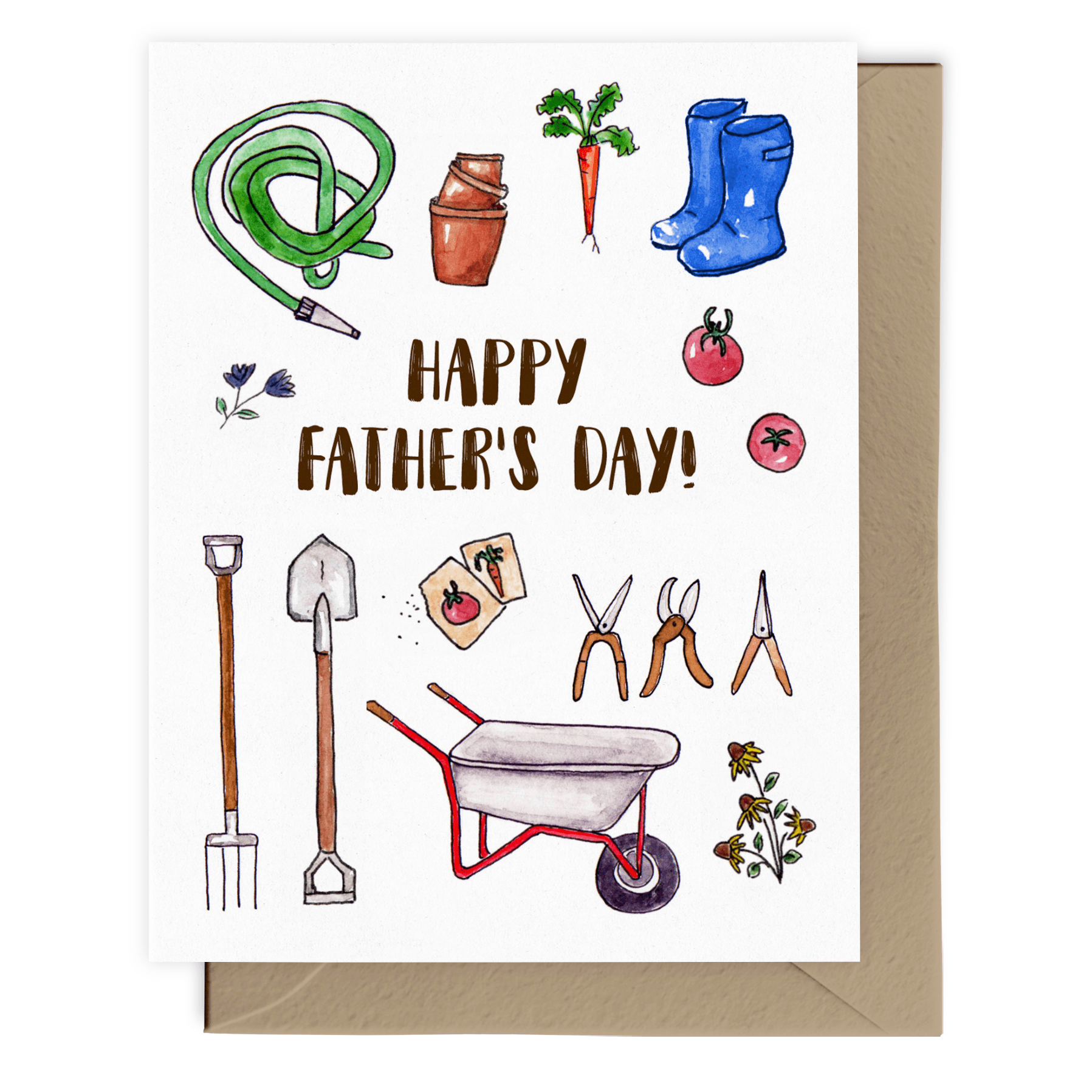 Dad's Garden | Father's Day Card